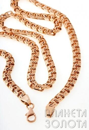 золотые цепочки женские плетение бисмарк фото