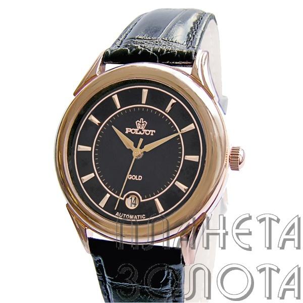 Мужские золотые часы Полет - Ювелирные | Часы
