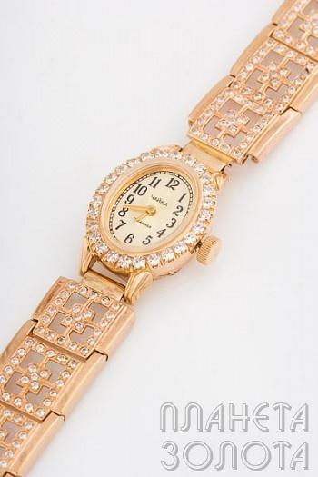 Женские золотые часы Виктория