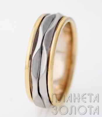 Обручальное кольцо арт.-034