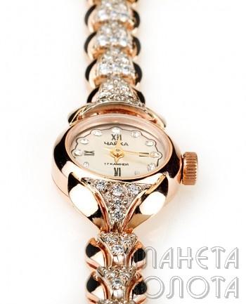 Золотые часы Continent арт.56 - Ювелирные