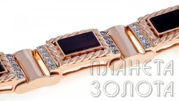Лот - купить мужской золотой браслет