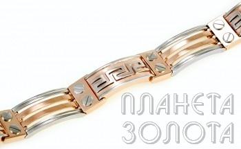 Золотые мужские браслеты на руку